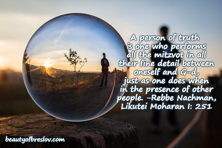 Be a Person ofTruth