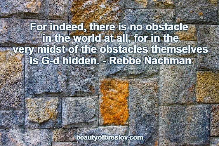Hidden Within EachObstacle