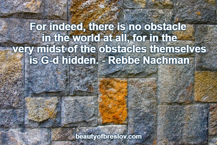 Hidden Within Each Obstacle