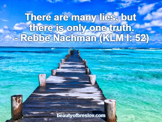 Many Lies – One Truth
