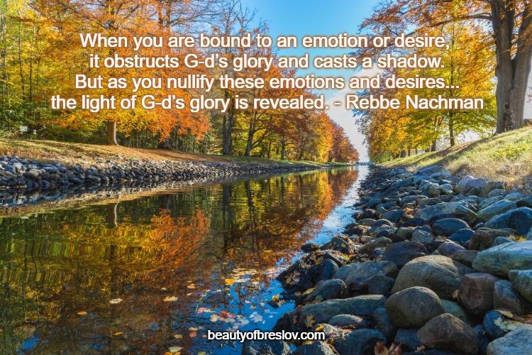Revealing G-d's Glory